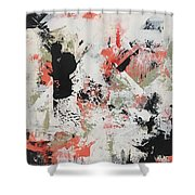 Coral #1 Shower Curtain