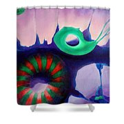 Coral Cavern 1.0 Shower Curtain