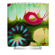 Coral Cavern 1.1 Shower Curtain