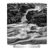 Coral Cove Park 0536 Shower Curtain