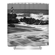 Coral Cove Park 0594 Shower Curtain