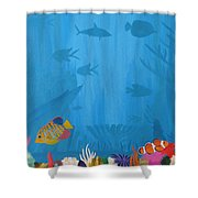 Coral Paradise Shower Curtain