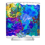 Coral Reef Fantasy Shower Curtain