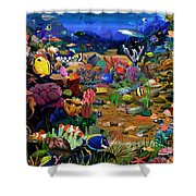 Coral Reef Shower Curtain