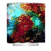 Coral Reef Impression 15 Shower Curtain