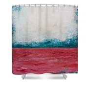 Coral Sea Shower Curtain
