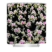 Coral Spawning  Shower Curtain