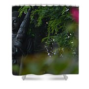 Corazon De Buda II Shower Curtain