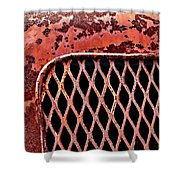 Corbitt Truck Shower Curtain