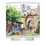 Cordes Sur Ciel 03 Shower Curtain