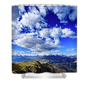 Cordillera Blanca Shower Curtain