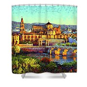 Cordoba Mosque Cathedral Mezquita Shower Curtain