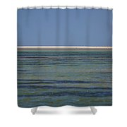 Core Banks Horizon Shower Curtain