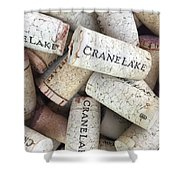 Cork Collection Shower Curtain