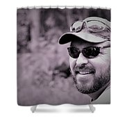 Corky Shower Curtain