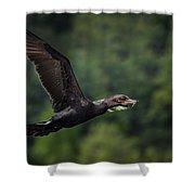 Cormorant 7 Shower Curtain