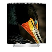 Cormorant Shower Curtain