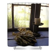 Corn And Candle Shower Curtain