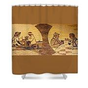 Corn Art At Corn Palace 05 Shower Curtain
