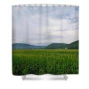 Corn Fields, Upstate New York Shower Curtain