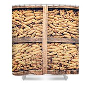 Corn For Winter Shower Curtain