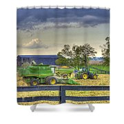 Corn Harst No2 Shower Curtain