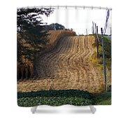 Corn Harvest Shower Curtain