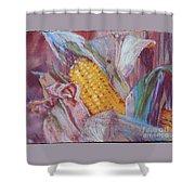 Corn Maize Shower Curtain