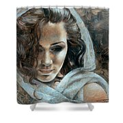Cornelia Portrait2 Shower Curtain