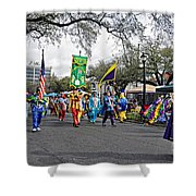 Corner Club 4 - Mardi Gras New Orleans Shower Curtain