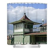 Corner Detail Of The Pavilion - Ryde Shower Curtain