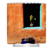 Corner In Santa Fe Nm Shower Curtain