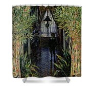 Corner Of A Flat At Argenteuil Shower Curtain