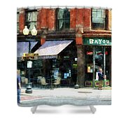 Corner Of Columbia And Pearl Albany Ny Shower Curtain