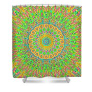 Corner Of Love And Haight Shower Curtain