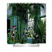 Corner Office, Key West, Fl Shower Curtain
