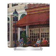 Corner Restaurant Shower Curtain