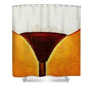 Cornerlamp - Pa Shower Curtain