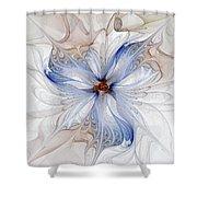 Cornflower Blues Shower Curtain