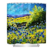 Cornflowers In Ver Shower Curtain