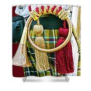 Cornish National Tartan Shower Curtain