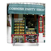 Cornish Pasty Shop Shower Curtain