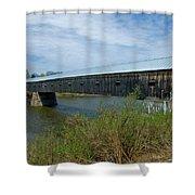 Cornish-windsor Bridge Shower Curtain