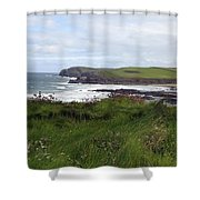 Cornwall Coast 3 Shower Curtain