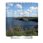 Cornwall Coast 4 Shower Curtain