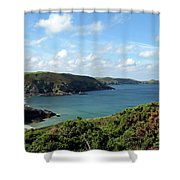 Cornwall Coast II Shower Curtain