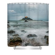 Cornwall I Shower Curtain
