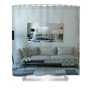 Cornwall Interior Design Shower Curtain