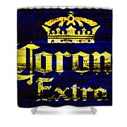 Corona Beer Sign 1c Shower Curtain