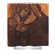 Coronation Of The Virgin 1311 Shower Curtain
